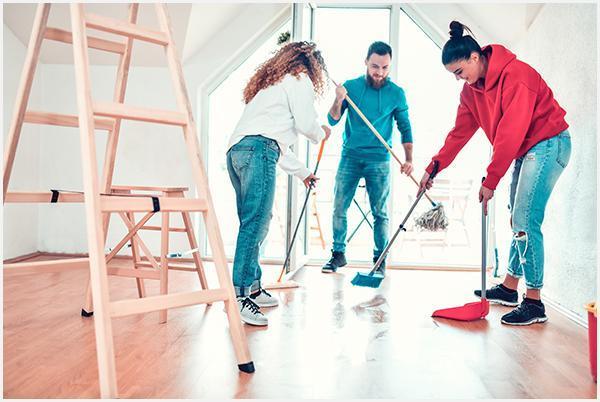 Zespół sprzątający